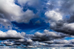 Cumulus clouds Royalty Free Stock Images