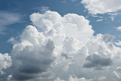 Cumulus clouds for background Stock Photography