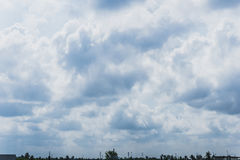 Cumulus Clouds Background Stock Photography