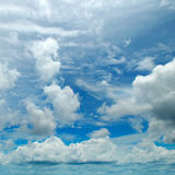 Cumulus clouds Royalty Free Stock Photos