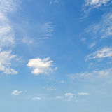 cumulus clouds in the blue sky Royalty Free Stock Photography