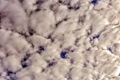 Cumulus clouds. Stock Photo