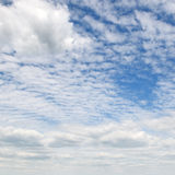 Cumulus clouds Stock Images