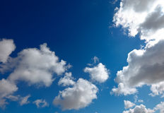 Cumulus clouds Stock Image