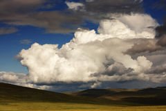 Cumulus clouds N3 Stock Photos
