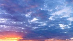 A fabulous evening landscape sky Stock Photography