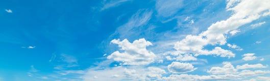 Cumulus clouds in Sardinia Stock Photo