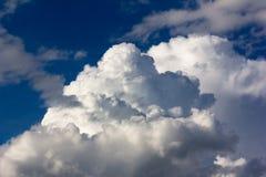 Cumulus clouds in the sky Stock Photo