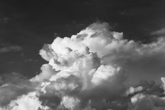 Cumulus clouds in the sky Royalty Free Stock Image