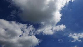 Cumulus Clouds Time Lapse 36. A time lapse video showing the motion and transformation of cumulus clouds stock video