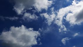 Cumulus Clouds Time Lapse 35 stock video footage