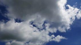Cumulus Clouds Time Lapse 37 stock video