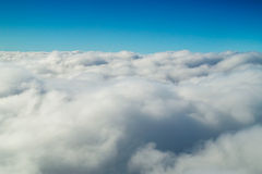 Cumulus cloudscape Royalty Free Stock Photos