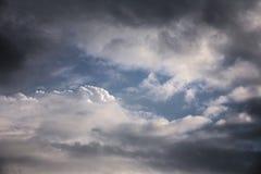 Cumulus Cloudscape Stock Image