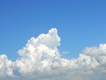 Cumulus Congestus Clouds Stock Photo