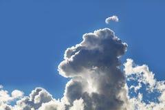 Cumulus et ciel bleu de Grey Storm Clouds Gathering On photo libre de droits