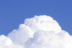 cumulus för 2 oklarheter Arkivfoto