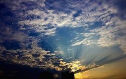 Cumulus Fractus Stock Images