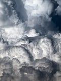 Cumulus i Soczewkowaty Zdjęcia Stock