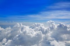 Free Cumulus Sea Of Clouds View From Aerial View Royalty Free Stock Photos - 117713008