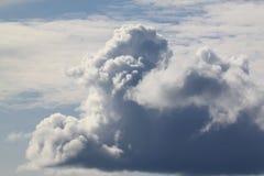 Cumulus sterta Fotografia Stock