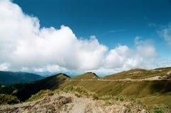Cumulus w górach fotografia royalty free