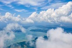 Cumuluswolken Royalty-vrije Stock Afbeelding