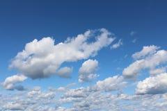 Cumuluswolken Stock Fotografie