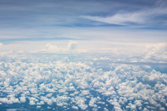 Cumuluswolken Stock Foto's