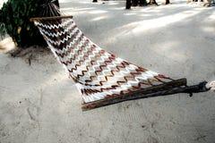Cuna en la playa del mar Tailandia Imagen de archivo