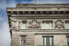 Cunard Building. Royalty Free Stock Photography