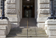 Cunard Building Entrance in Liverpool Stock Photo