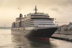 Cunards Königin Victoria Stockfotografie
