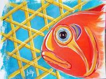 Cunaro fisk i mara Royaltyfri Fotografi
