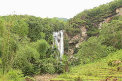 Cunca Rami Waterfall, East Nusa Tenggara stock photo
