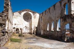 Cunda island church ruins, Stock Images