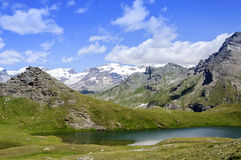 Cuneaz (Aosta Valley - North Italy) Lake Perrin Stock Photos