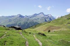 Cuneaz (das Aostatal, Nord-Italien) Lizenzfreie Stockfotos