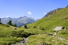 Cuneaz (das Aostatal - Nord-Italien) Lizenzfreie Stockfotografie
