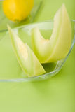 Cunei del melone di melata Immagini Stock