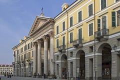 Cuneo. Cathedral of Santa Maria del Bosco in Via Roma in Cuneo Stock Image