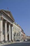 Cuneo. Cathedral of Santa Maria del Bosco in Via Roma in Cuneo Stock Photo