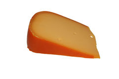 Cuneo di formaggio Fotografie Stock