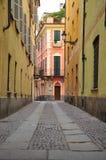 Cuneo, Piemonte, Italy. Pedestrian lane Stock Photo
