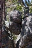 Cunha de Boulder do granito fotos de stock royalty free