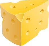 Cunha do queijo Ilustração Stock