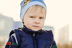 Cunning boy Royalty Free Stock Images