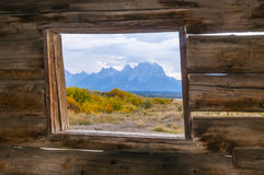 Cunningham Cabin Grand Teton National Park Royalty Free Stock Images