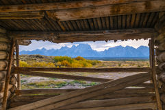 Cunningham Cabin Grand Teton National Park Stock Images