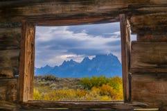Cunningham Cabin Grand Teton National Park Royalty Free Stock Image
